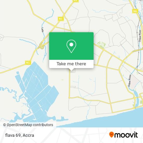 flava 69 map