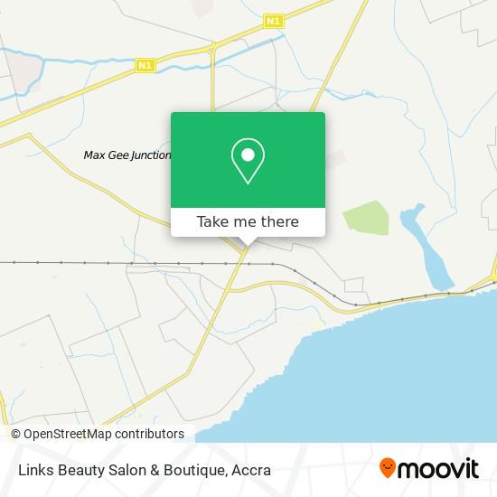 Links Beauty Salon & Boutique map
