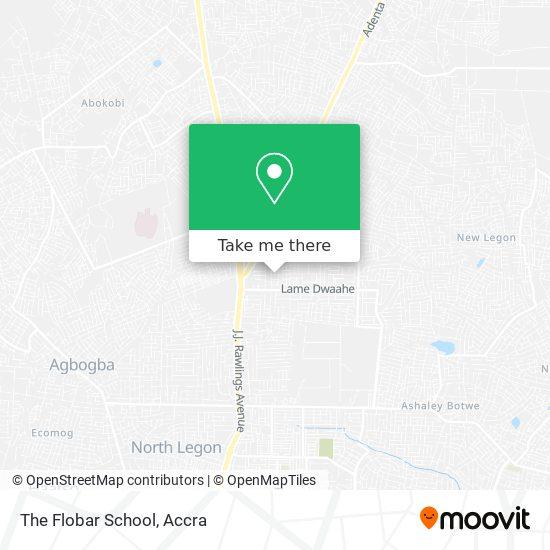 The Flobar School map