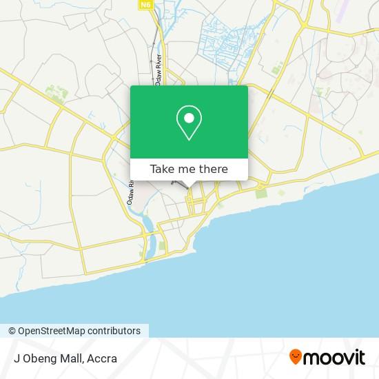 J Obeng Mall map