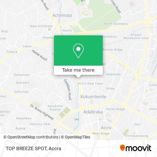 TOP BREEZE SPOT map
