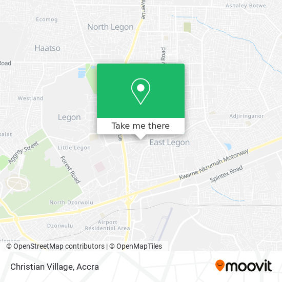 Christian Village map