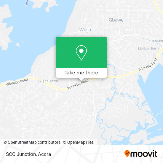 SCC Junction map
