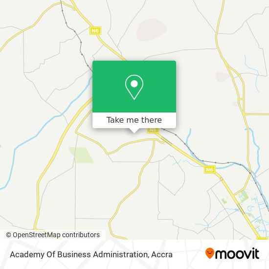 Academy Of Business Administration map