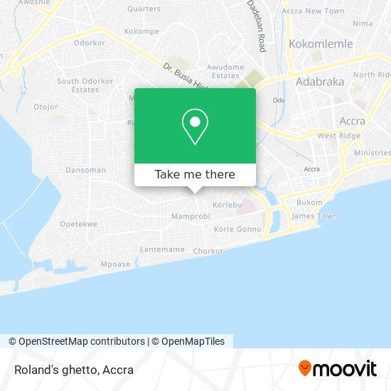 Roland's ghetto map