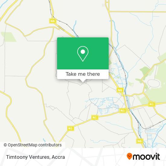 Timtoony Ventures map