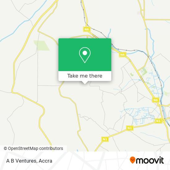 A B Ventures map