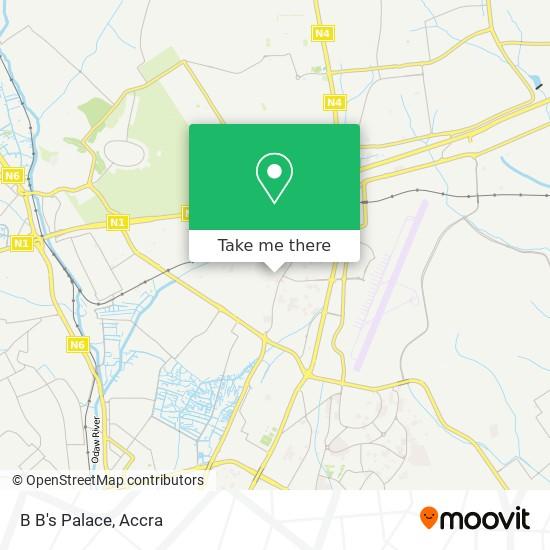 B B's Palace map