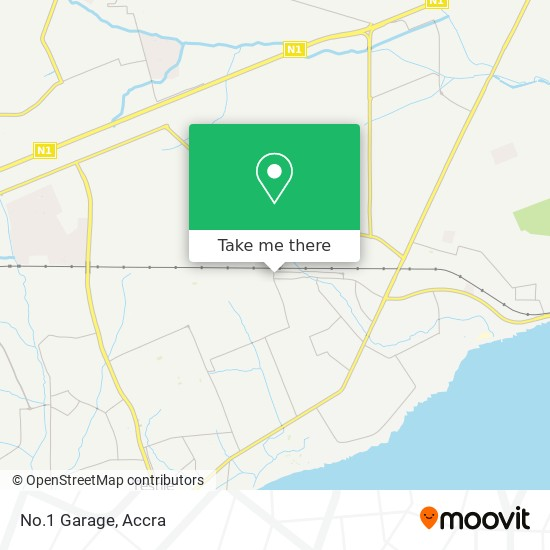 No.1 Garage map