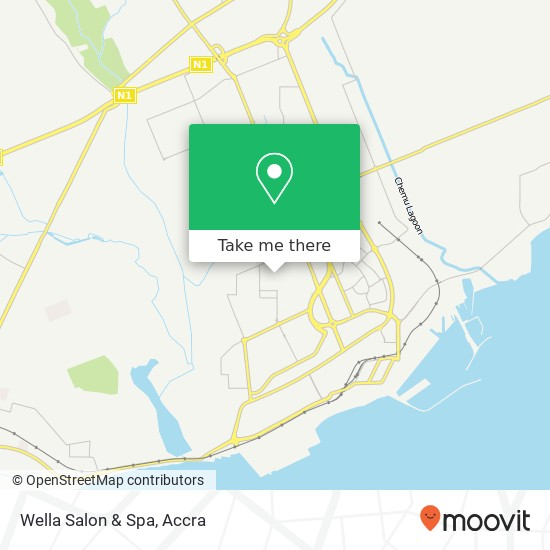 Wella Salon & Spa map