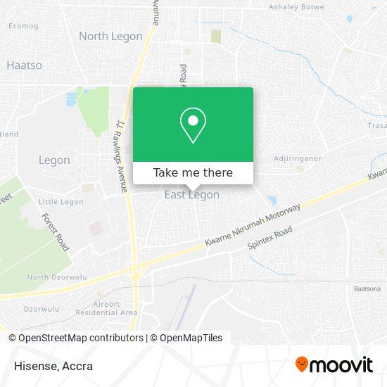 Hisense map