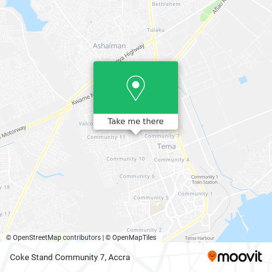 Coke Stand Community 7 map