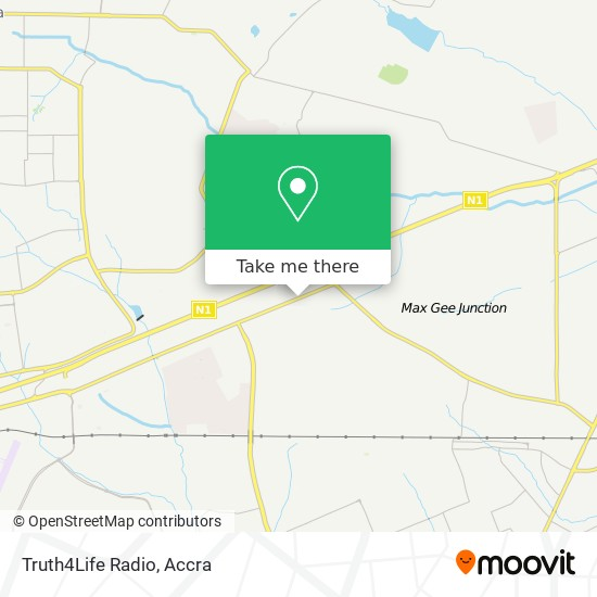 Truth4Life Radio map
