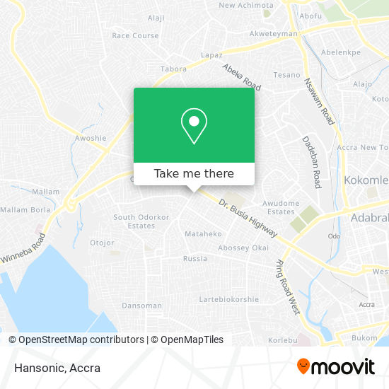 Hansonic map