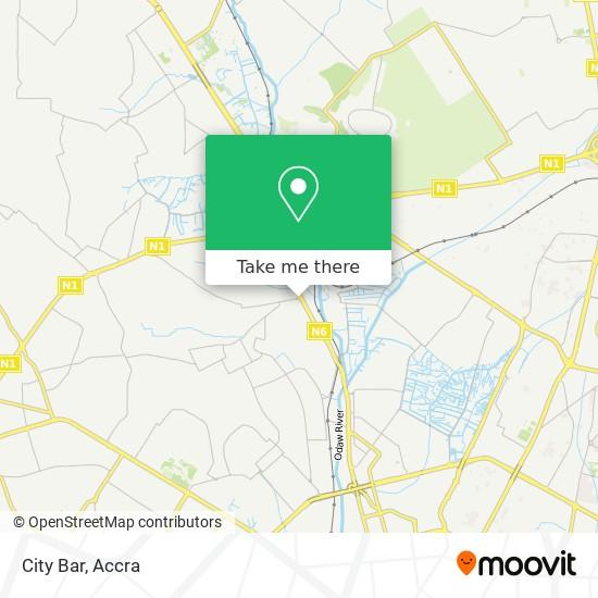 City Bar map