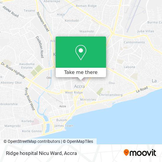 Ridge hospital Nicu Ward map