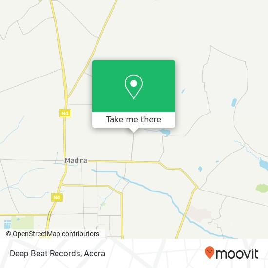 Deep Beat Records map