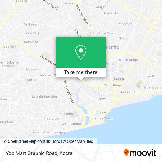 Yoo Mart Graphic Road map