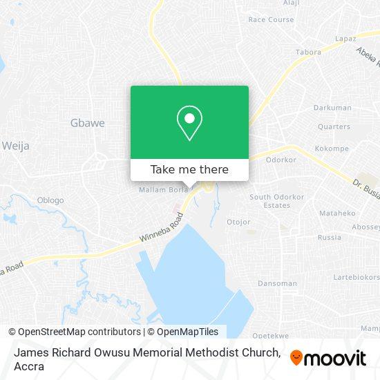 James Richard Owusu Memorial Methodist Church map