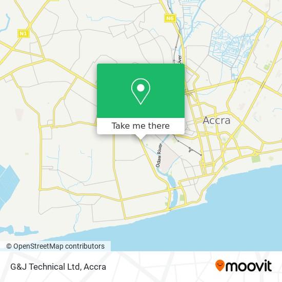 G&J Technical Ltd map