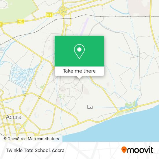 Twinkle Tots School map