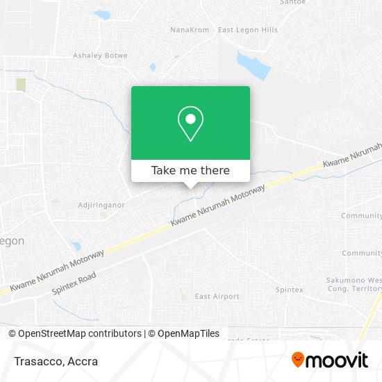 Trasacco map