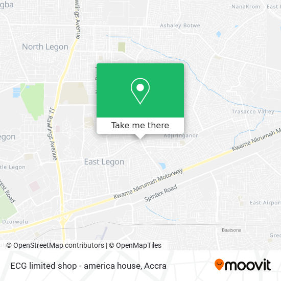 ECG limited shop - america house map