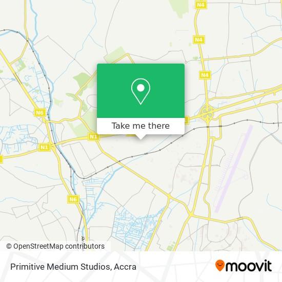 Primitive Medium Studios map