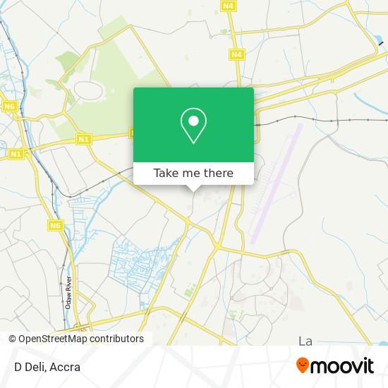 D Deli map