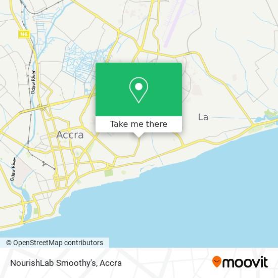 NourishLab Smoothy's map