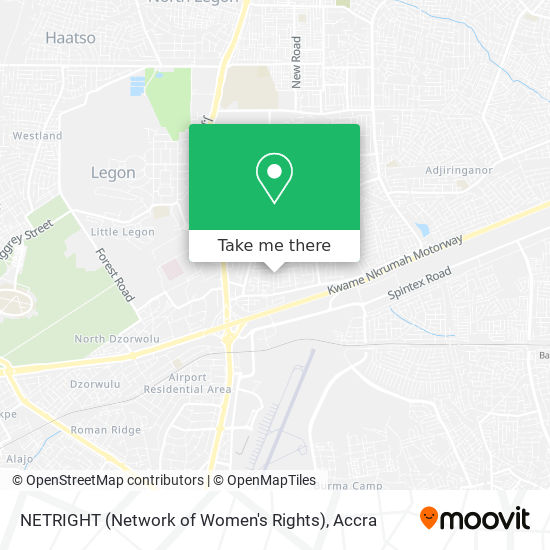 NETRIGHT (Network of Women's Rights) map