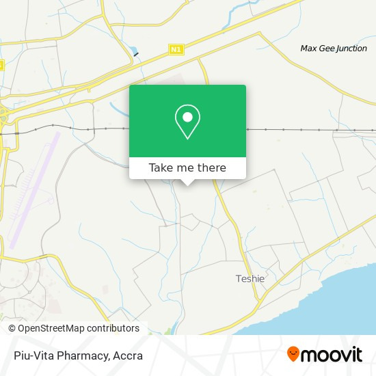 Piu-Vita Pharmacy map