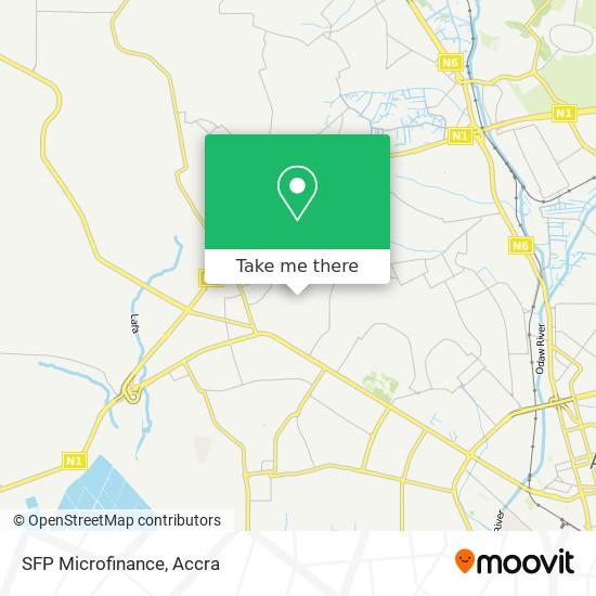 SFP Microfinance map