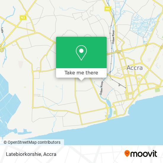 Latebiorkorshie map