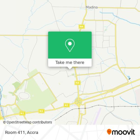 Room 411 map