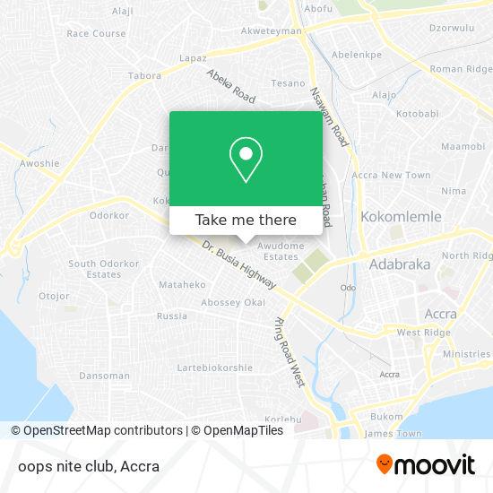 oops nite club map