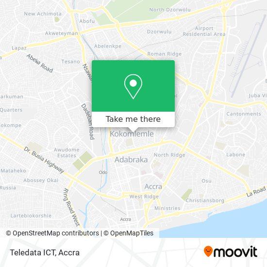 Teledata ICT map