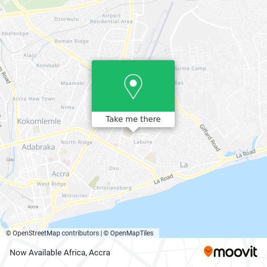 Now Available Africa map