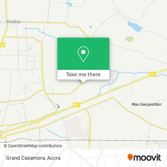 Grand Casamora map