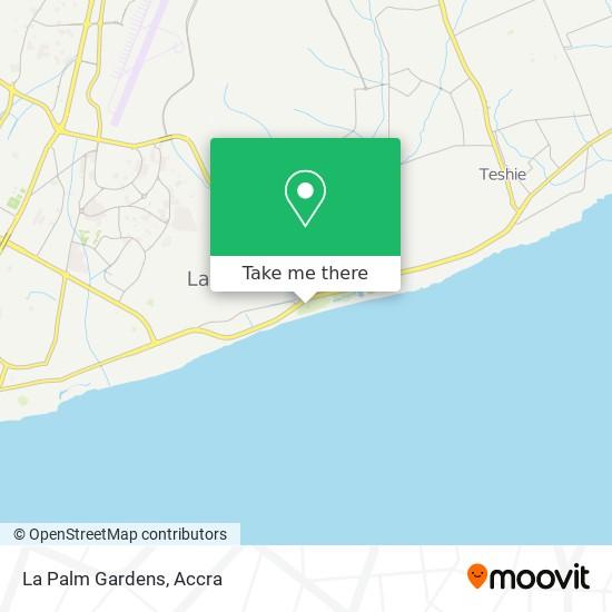 La Palm Gardens map