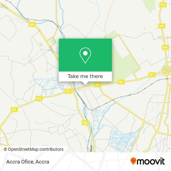 Accra Ofice map