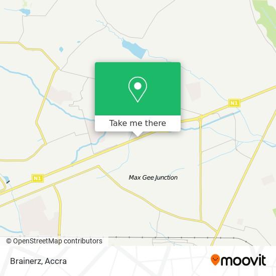 Brainerz map