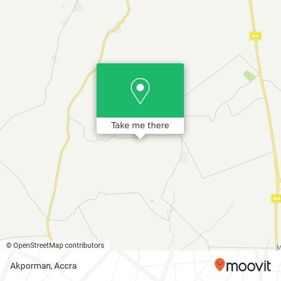 Akporman map