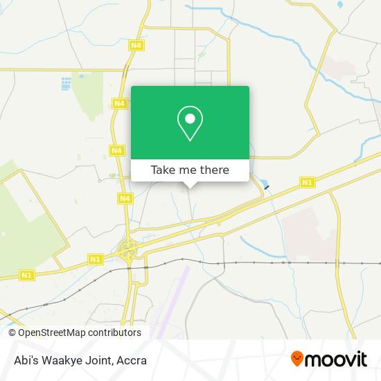 Abi's Waakye Joint map