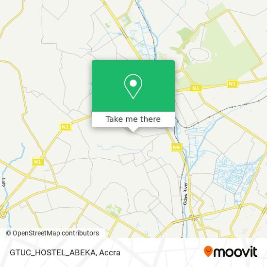 GTUC_HOSTEL_ABEKA map