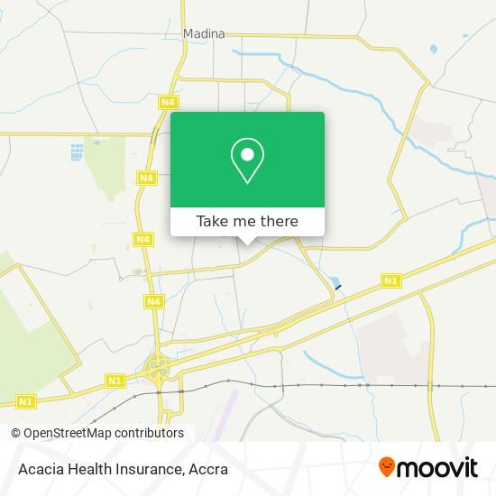 Acacia Health Insurance map
