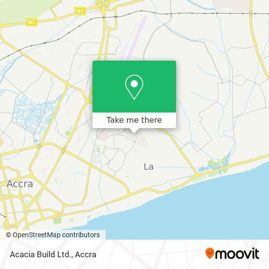 Acacia Build Ltd. map