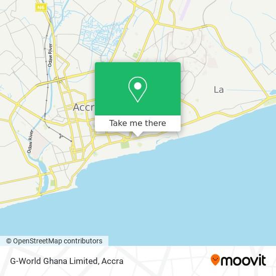G-World Ghana Limited map