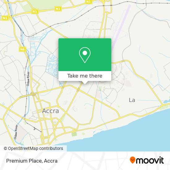 Premium Place map