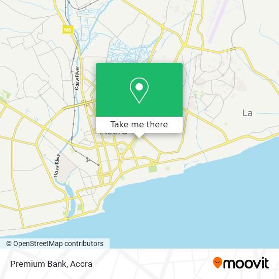 Premium Bank map